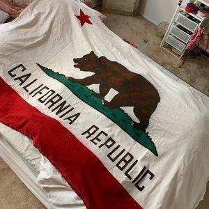 California Republic Flag Tapestry